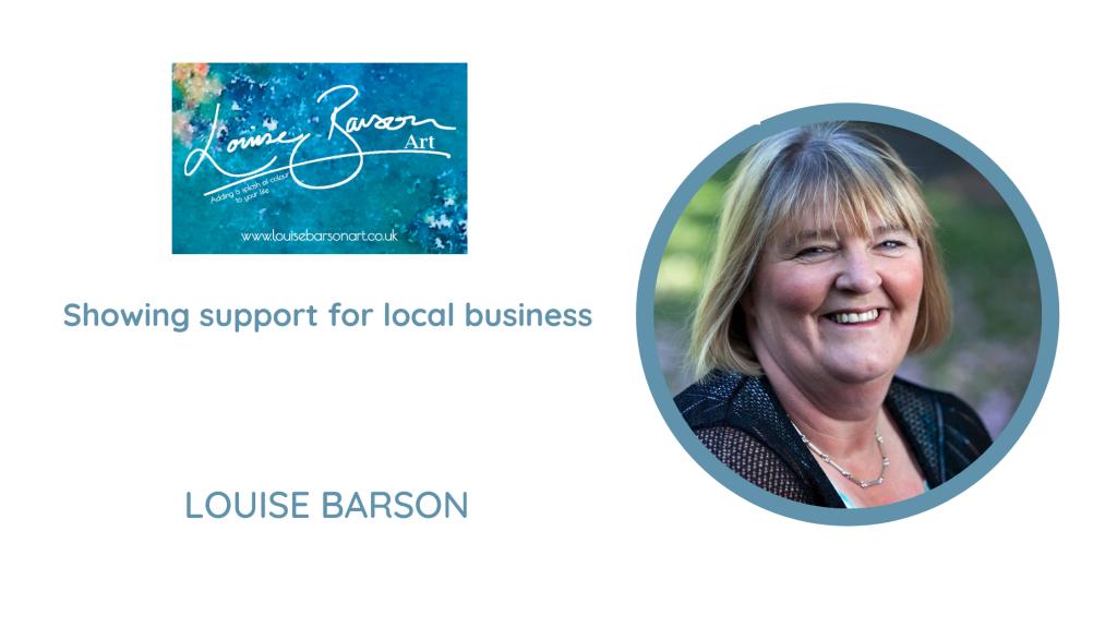 Louise Barson Art Stockport Business