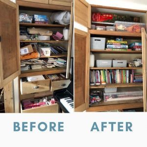 Sorted Before and After Picture
