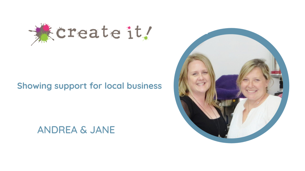 Jane and Andrea from Create It Cheadle